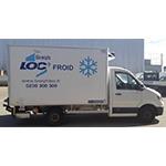 Caisse frigorifique 12m3